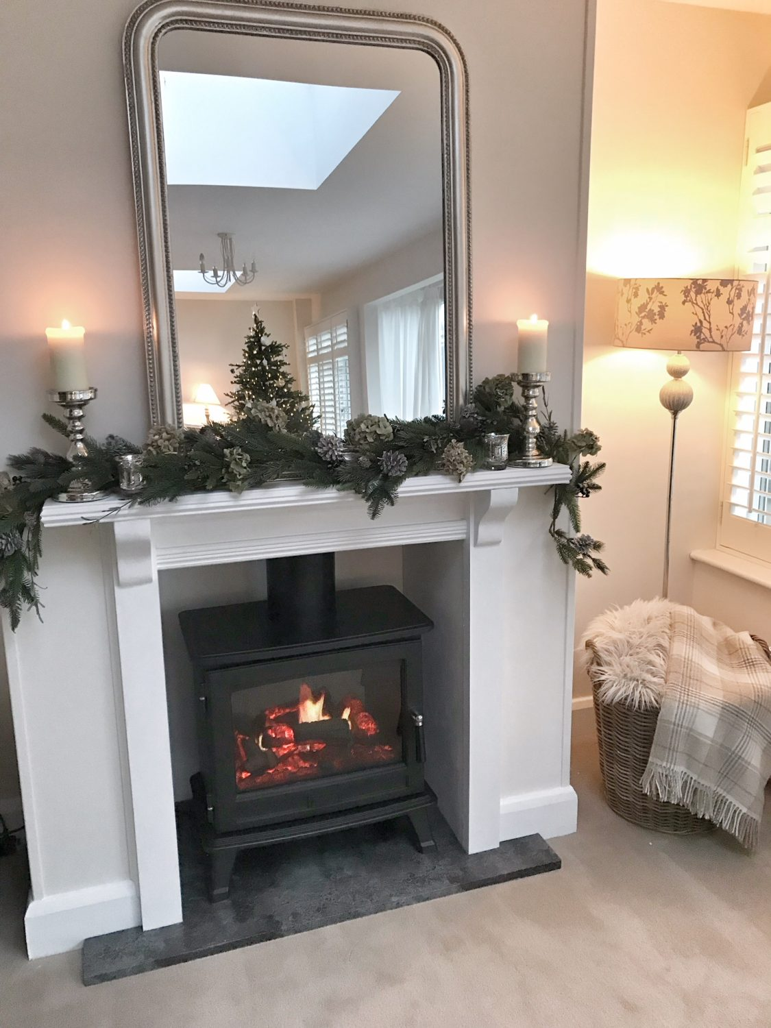 False Fireplace Installation – The Home That Made Me