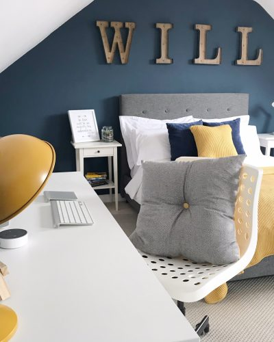 A Surprise Bedroom Makeover For My Nephew*